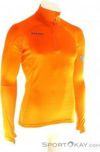 Mammut Mönch Advanced Half Zip Herren Tourensweater-Orange-L