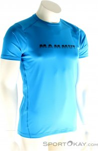 Mammut Splide Logo Herren T-Shirt-Blau-XL