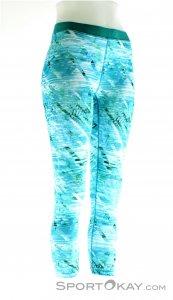 Marmot Pump Up Capri Damen Fitnesshose-Blau-L