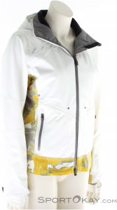 Mountain Force Rider Jacket Print Damen Skijacke-Weiss-42