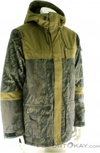 O'Neill Bearded Hybrid Jacket Herren Skijacke-Oliv-Dunkelgrün-S