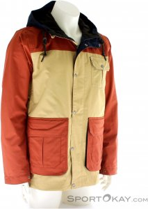 O'Neill Bearded Jacket Herren Skijacke-Beige-XXL