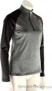 Odlo Midlayer 1/2 Zip Damen Skisweater-Grau-XL