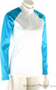 Odlo Midlayer 1/2 Zip Damen Skisweater-Weiss-XL