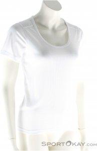 Odlo SS Crew Neck Cubic Damen T-Shirt-Weiss-L