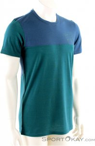 Ortovox 150 Cool Logo Long Sleeve Herren Shirt-Blau-L
