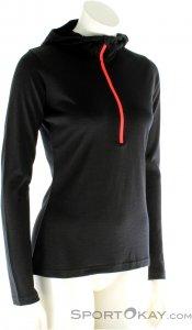 Ortovox 185 Hoody Damen Tourensweater-Schwarz-L