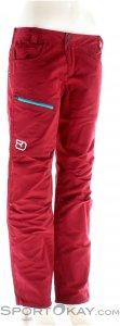 Ortovox Corvara Pants Damen Outdoorhose-Rot-XS