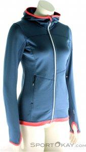 Ortovox Fleece Light Hoody Damen Outdoorsweater-Blau-S