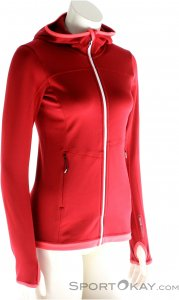 Ortovox Fleece Light Hoody Damen Outdoorsweater-Rot-M