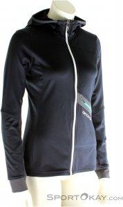 Ortovox Fleece Light Tec Hoody Damen Outdoorsweater-Schwarz-XL