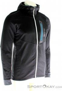 Ortovox Fleece Light Tec Hoody Herren Outdoorsweater-Schwarz-L