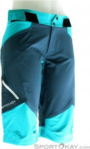 Ortovox Pala Shorts Damen Outdoorhose-Blau-XL