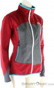 Ortovox Piz Badile Jacket Damen Outdoorjacke-Rot-L