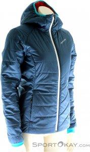 Ortovox Piz Bernina Jacket Damen Tourenjacke-Blau-L