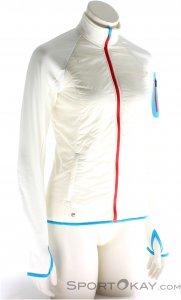 Ortovox Swisswool Hybrid Damen Tourenjacke-Weiss-L