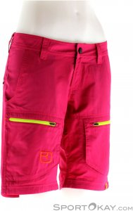 Ortovox Shield Vintage Cargo Damen Outdoorhose-Pink-Rosa-L