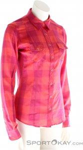 Ortovox Stretch Back Shirt LS Damen Outdoorhemd-Pink-Rosa-XS
