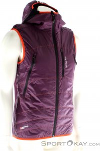 Ortovox SW Light Piz Boe Vest Herren Outdoorweste-Lila-XL