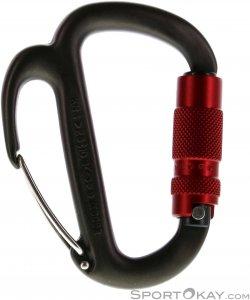 Petzl Freino Safe Lock Karabiner-Rot-One Size