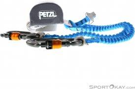 Petzl Scorpio Vertigo Klettersteigset-Blau-One Size