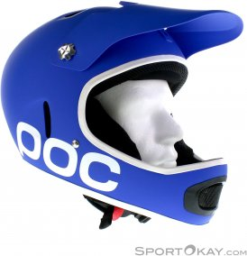 POC Cortex Flow Downhill Helm-Blau-M/L