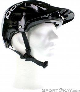 POC Trabec Race Bikehelm-Schwarz-XS/S
