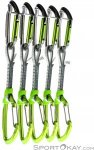 Climbing Technology Lime Mix DY Set 5er Expressschlingen-Set-Grün-One Size