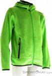CMP Strickfleece Fix Hood Jungen Outdoorsweater-Grün-128