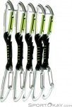 Edelrid Slash Wire Set 10cm Expressschlingen-Set-Grau-10