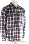 Fjällräven Singi Flannel Shirt LS Herren Outdoorhemd-Grau-S