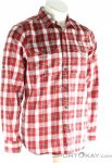 Fjällräven Singi Flannel Shirt LS Herren Outdoorhemd-Rot-L