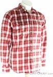 Fjällräven Singi Flannel Shirt LS Herren Outdoorhemd-Rot-M