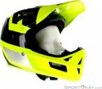 Fox Rampage Pro Carbon Preest Helmet Herren Downhill Helm-Gelb-XL
