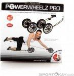 Gymstick Power Wheelz Pro Fitnessgeräte-Schwarz-One Size