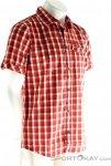 Jack Wolfskin Napo River Herren Outdoorhemd-Rot-XL