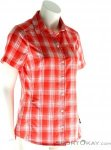 Jack Wolfskin Rock Chill Damen Outdoorhemd-Rot-XL