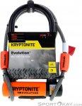 Kryptonite Evolution Mini-7 + KFlex 120cm Fahrradschloss-Schwarz-One Size