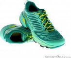 La Sportiva Akasha Damen Traillaufschuhe-Türkis-39,5