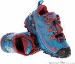 La Sportiva Falkon Low Kinder Wanderschuhe-Blau-34