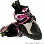 La Sportiva Solution Damen Kletterschuhe-Pink-Rosa-34,5