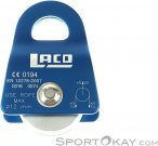 LACD Single Pulley Mobile Small Seilrolle-Blau-One Size