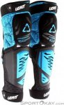 Leatt Knee and Shin Guard 3DF Hybrid EXT Knieprotektoren-Blau-XXL