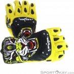 Level SQ CF Handschuhe-Gelb-10