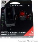 Lezyne Hecto Drive 500XL/Femto USB Fahrradbeleuchtung-Schwarz-One Size