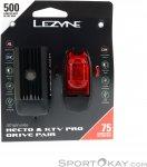 Lezyne Hecto Drive 500XL/KTV Pro Fahrradlicht Set-Schwarz-One Size