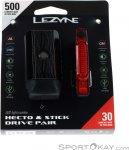 Lezyne Hecto Drive 500XL/Stick Drive Paar Fahrradlicht Set-Schwarz-One Size