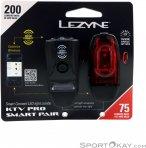 Lezyne KTV Drive/KTV Pro Smart Fahrradlicht Set-Schwarz-One Size