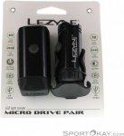 Lezyne Micro Drive 450XL-Micro Drive Set Fahrradbeleuchtung-Schwarz-One Size