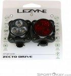 Lezyne Zecto Drive Set Fahrradbeleuchtung-Schwarz-One Size